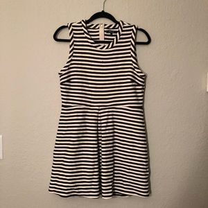 Madewell a-line striped dress